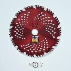 2pk-CARBIDE brush cutter blade Trimmer RAZOR RENEGADE BLADE 56 teeth 203mm UK
