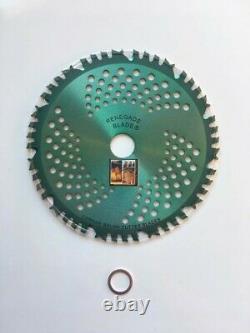 2pk-CARBIDE brush cutter blade Trimmer VIPER RENEGADE BLADE 44 teeth 203mm UK