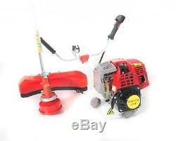 31cc 4 Stroke Petrol Strimmer / Brushcutter / Trimmer c/w Blade & Bump Feed Head
