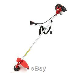 33cc Petrol Lightweight Grass Lawn Edge Weed Strimmer & Brushcutter Cordless