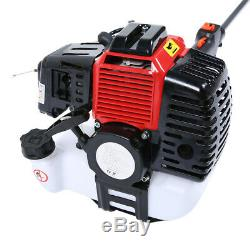 4 In 1 Hedge Trimmer Multi Tool Petrol Brush Cutter Garden Chainsaw Powerful UK
