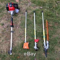 52CC Garden Chainsaw Hedge Trimmer Strimmer Petrol Branch Lawn Brushcutter Tools