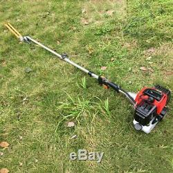 52CC Garden Hedge Trimmer Tool Set Brush Cutter Grass Trimmer Chainsaw Multi Use