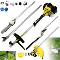 52cc Multi Function 5 in 1 Garden Tools, Brush Cutter, Trimmer, Chainsaw, hedge trim