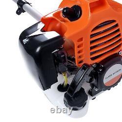 52cc Multi Petrol Garden Brush Cutter Grass Line Trimmer Strimmer Lawn Mower UK