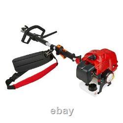 52cc Petrol 5-in-1 Garden Multi Tool Grass Trimmer Brush Cutter Chainsaw Pruner