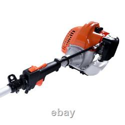 52cc Petrol Brush Cutter Chainsaw Grass Trimmer 5 in1 Multi Function Garden Tool