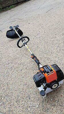52cc Petrol Multi Tool Long Reach Hedge Trimmer Brushcutter Strimmer Chainsaw