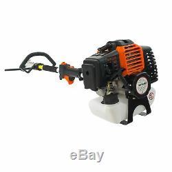 52cc petrol brushcutter 4in1 gardening multi tool set brush cutter hedge trimmer
