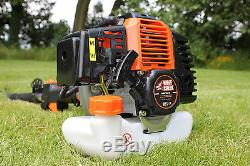 58cc Multi Function Garden Tool 5in1 Petrol Strimmer Chainsaw Hedge Brush Cutter