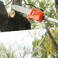 5 In 1 52cc Petrol Hedge Trimmer Chainsaw Brush Cutter Pole Saw Outdoor Tool