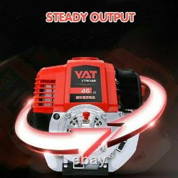 5 in1 52cc Hedge Trimmer Multi-Tools Petrol Strimmer Chainsaw Garden Brushcutter