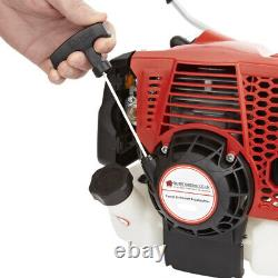 68cc Petrol Lightweight Grass Lawn Edge Weed Strimmer & Brushcutter Cordless