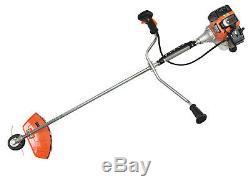 DEMON RQ580 5,2HP Petrol Brushcutter Strimmer Cutter Grass Garden Lawn POWERFUL