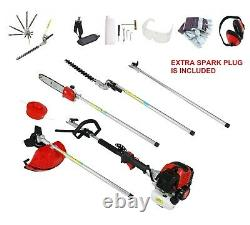 HIGH QUALITY 52cc 5 IN 1 3HP MULTI TOOlS STRIMER, HEDGE TRIMER, CHAINSAW, WARRANTY