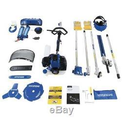 Hyundai HYMT5200 52cc Petrol Garden Multi Tool Strimmer Brushcutter Chainsaw