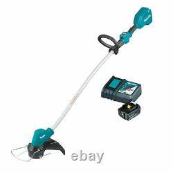 Makita Brushless 18V Cordless Brushcutter Line Trimmer & 4ah Battery Charger Kit