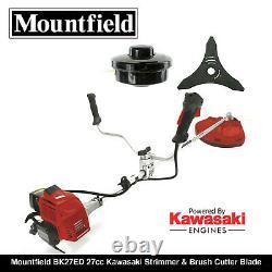 Mountfield Bk27ed 27cc Kawasaki Engine Strimmer & Brush Cutter