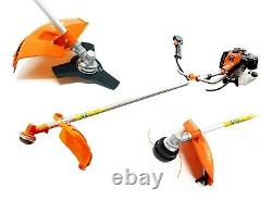 Multi Function 5 in 1 Garden Tool BrushCutter, Grass Trimmer, Chainsaw, Hedge