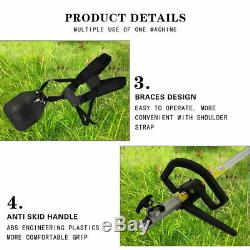Multi Tools 5 in1 Hedge Trimmer Petrol Strimmer Chainsaw Garden Brushcutter 52cc