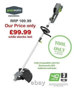 NEW Greenworks Duramaxx 40V Digi Pro Lawn trimmer/Brush Cutter 2in1 (Tool Only)