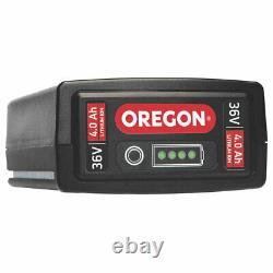 Oregon 36V 4.0Ah Li-Ion Multi-Tool Garden Saw Brushcutter Hedge Trimmer Maintain