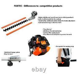 Petrol 4in1 Multitool high-level pruner long-range hedge trimmer brush cutter