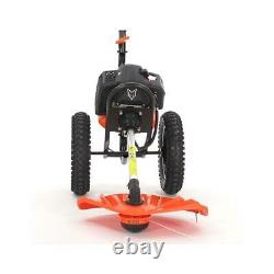 Petrol FUXTEC wheeled brush cutter/grass trimmer FSR152 2.2kW51.7cc2-stroke