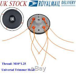 Petrol Trimmer Head Strimmer Bump Feed Line Spool Aluminum Brush Cutter Grass LO