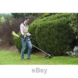Ryobi OBC1820B ONE+ 18V Cordless Brush Cutter with bike handle, Green, Body only