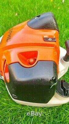 STIHL FS410c Strimmer Brushcutter New Head and guard very good condition