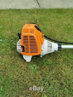 STIHL FS 130 4 MIX STRIMMER BRUSH Cutter with a stihl polycut head