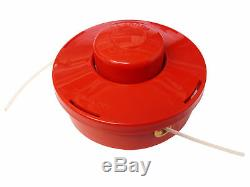 STRIMMER BRUSHCUTTER BUMP FEED LINE SPOOL HEAD FITS Most Brush Cutters