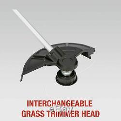 Spear & Jackson 36V 23cm Cordless Dual-Headed Grass Trimmer & Brush Cutter