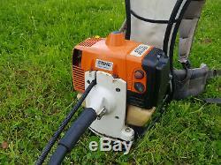 Stihl FR450 Backpack Strimmer / Brushcutter Petrol Full Working Order FR 450