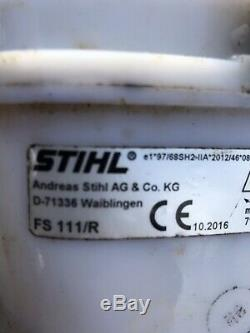 Stihl FS111R loop handle strimmer brushcutter + stihl oil, cord harness