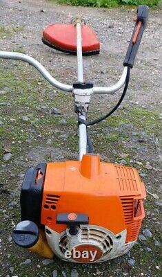 Stihl FS120 Petrol Strimmer Brushcutter. Good Working Order. Free Postage