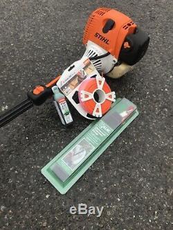 Stihl FS130R loop handle strimmer brushcutter + stihl oil, cord harness