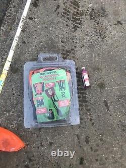 Stihl FS200 cowhorn handle strimmer brushcutter + stihl oil, cord harness