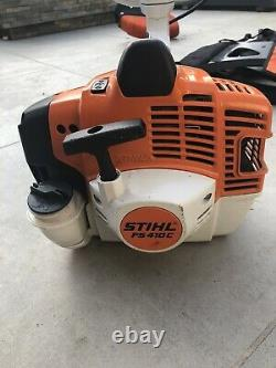 Stihl FS410C petrol brushcutter strimmer with harness, very good condition