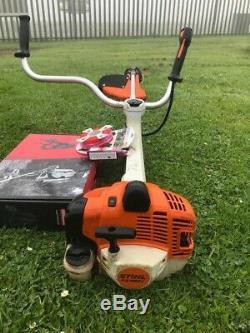 Stihl FS460C-EM strimmer brushcutter oil, cord harness app 2018 Into Service
