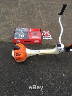 Stihl FS460 CEM strimmer brushcutter + stihl oil, cord harness