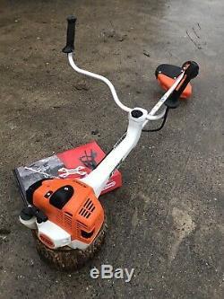 Stihl FS460 CEM strimmer brushcutter + stihl oil, cord harness approx year 2016