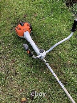 Stihl FS460 Two Stroke Petrol Brushcutter. Fitted With Shredding Attachment