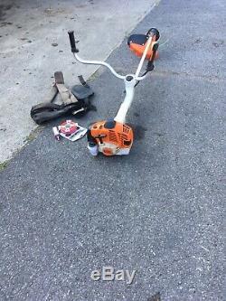 Stihl FS490 strimmer brushcutter + stihl oil, cord harness