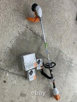 Stihl FSA 90 R Battery Brushcutter/strimmer With 2x AP300 Batteries And AL300 Ch