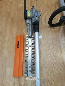 Stihl Km130 With Pruner, Strimmer/brushcutter And Trimmer. Perfect Working Order