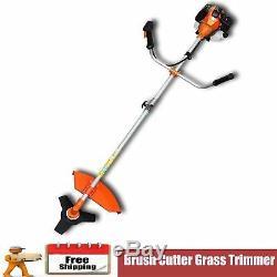 Strimmers Edger Brush Cutter Grass Trimmer 51,7 CC Orange 2,2 Kw Garden Chainsaw