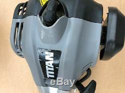 TITAN TTK587GDO 4in1 Multi Tool Strimmer Brush Cutter Hedge Trimmer GRADE B