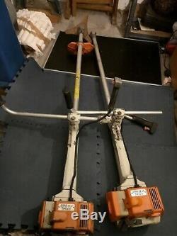 2 X Stihl Fs360 Professionnel Débroussailleuse Débroussailleuse Pièces De Rechange Ou De Réparation Petrol